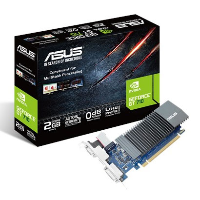 ASUS Nvidia Geforce GT 710 2GB GDDR5 Graphic Card