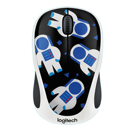 Logitech M238 Doodle Collection Wireless Spaceman Mouse