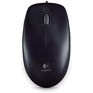 Logitech M90 Full-size Corded Mouse