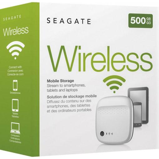 Seagate Wireless 500GB External Hard Drive
