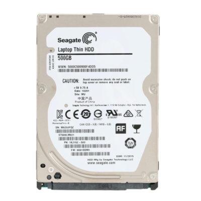 "Seagate laptop 500GB 2.5"" HDD"