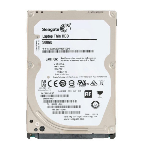 "Seagate laptop 500GB 2.5"" HDD"