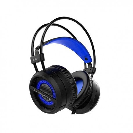 Element-G G331 USB & 3.5mm Blue LED Gaming Headset