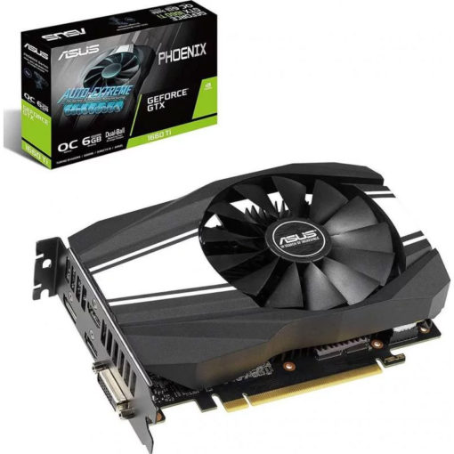 ASUS Geforce GTX 1660Ti OC 6GB