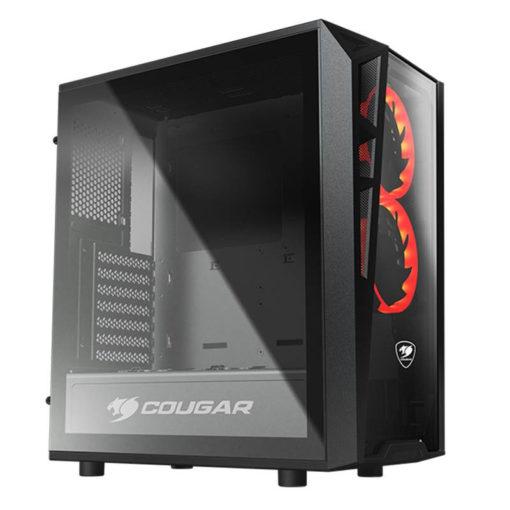 Cougar Turret Red LED Case