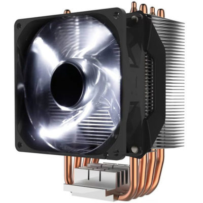 Cooler Master Hyper H411R with White LED PWM Fan