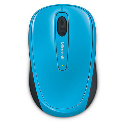 Microsoft Wireless Mobile 3500 Mouse Blue