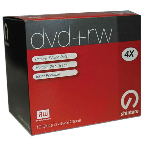 Shintaro DVD +RW 10 disc in Jewel Cases