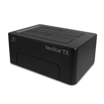 "Vantec NexStar TX Hard Drive Dock for Two 2.5""/3.5"" SATA 6Gbps SSD/HDD"