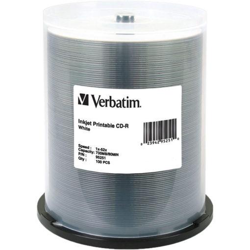 Verbatim CD-R Inkjet 100 Pack