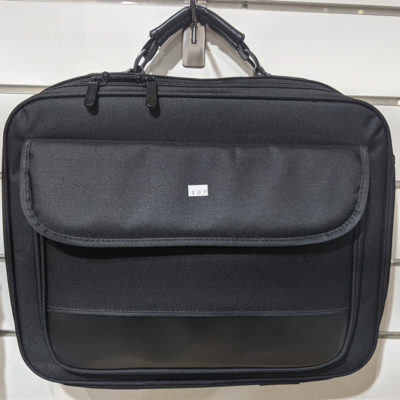Plain Black Laptop Bag
