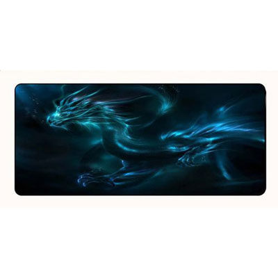 Large Mouse Pad Blue Dragon