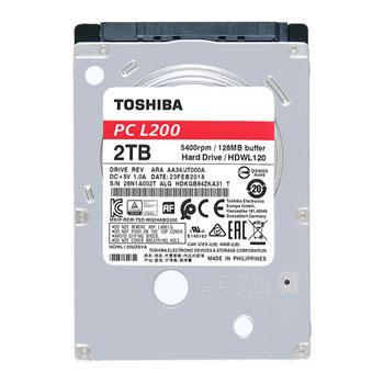 Toshiba 2.5 2TB HDD
