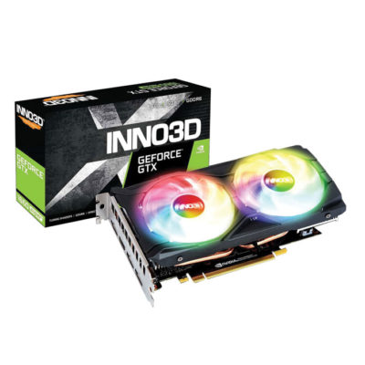 Inno3d Geforce GTX 1660 Super Twin x2 OC RGB 6GB Graphic Card