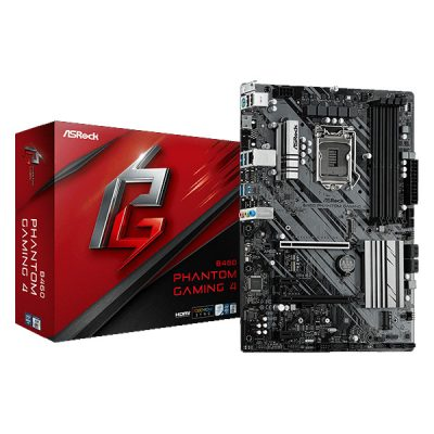 ASRock B460 Phantom Gaming 4 Motherboard
