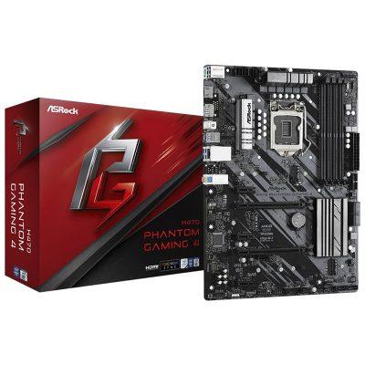 ASRock H470 Phantom Gaming 4 Motherboard
