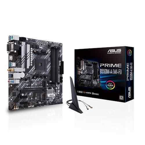 ASUS Prime B550M-A (WIFI) Motherboard