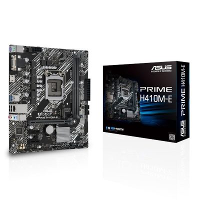 ASUS Prime H410M-E Motherboard