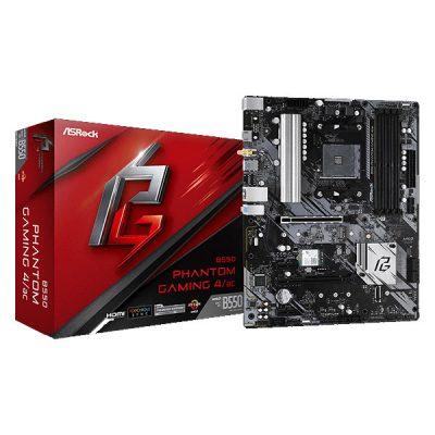 ASRock B550 Phantom Gaming 4/ac Motherboard