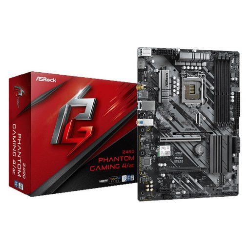 ASRock Z490 Phantom Gaming 4/ac Motherboard