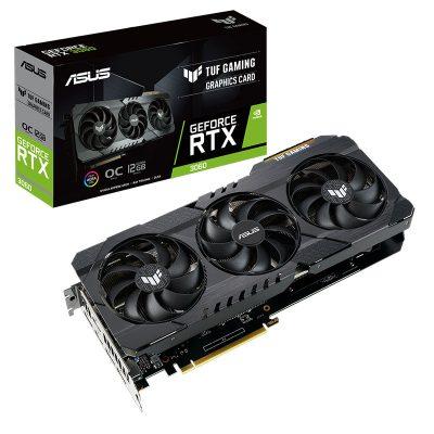 ASUS TUF Gaming Geforce RTX 3060 OC 12GB Graphic Card