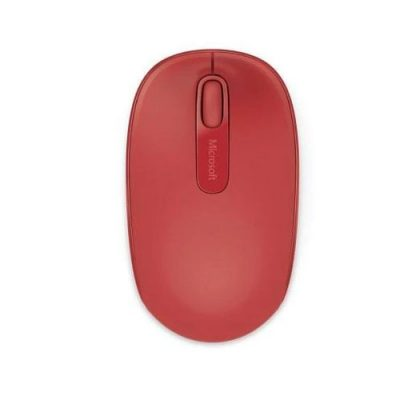 Microsoft Wireless Mobile 1850 Mouse Red