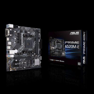 ASUS Prime A520M-E Motherboard