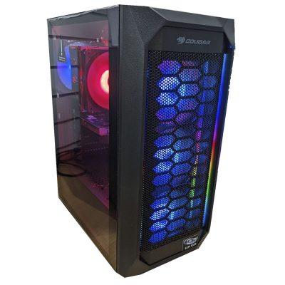 Carbil Cougar 410 Mesh RGB Gamer Desktop