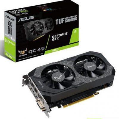 ASUS Tuf Gaming Nvidia Geforce GTX 1650 4GB OC Graphic Card